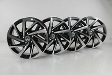 VW Tiguan ll 5NA Felgen 17 Zoll Woodstock schwarz Alufelgen 5NA601025P