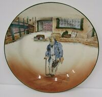 "Vintage Royal Doulton Dickens Ware 8.5"" Plate - Old Peggoty"