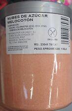 AZUCAR PARA ALGODON SABOR MELOCOTON TARRO 1 KG