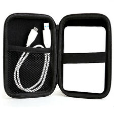 """Case Protection for 2.5"""" HDD Cable Pen Hard Drive Disk Zipper Pad Storage Bag HQ"""