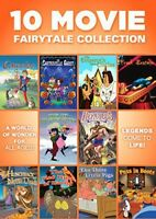 10 Movie Fairytale Collection [New DVD] Full Frame