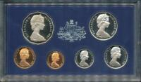 Australia, 1981 Uncirculated Proof set of 6 coins with export box