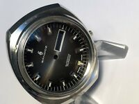 NEW OLD STOCK SANDOZ MEN'S STAINLESS ST. WRISTWATCH CASE FOR AUTOMATIC MOVEMENT