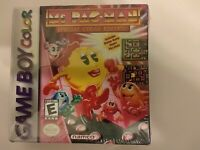 Ms. Pac-Man (Nintendo Game Boy) *BRAND NEW - FACTORY SEALED - SHIPS FAST*