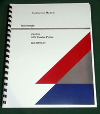Tektronix P6139A Instruction Manual: Comb Bound & Protective Covers
