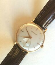 LEONIDAS St. IMIER Swiss manual wind up overhauled recently terrific condition..