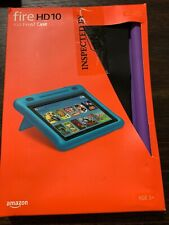 Amazon Fire HD 10 Kid-Proof Case for Amazon Tablet (7th & 9th Gen) PURPLE NEW