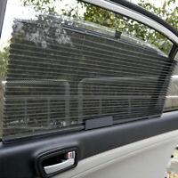 Auto Versenkbarer Vorhang Sonnenschutzrollo Sonnenblende Sonnenschutz Schwarz