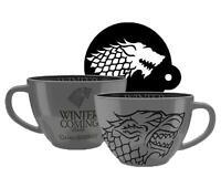 Game of Thrones Cappuccino Tasse Stark