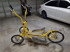 Streetstrider 8R/ Elliptical on wheels with indoor trainer