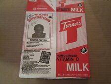 1986 Dairy Pak Football COMPLETE ALL 24 PLAYERS