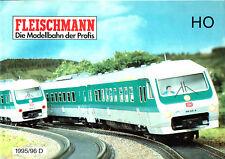Fleischmann Katalog 1995/96 H0, ungelocht+unbeschriftet /C932
