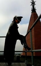 Famous PVC Dominatrix Hat for Spectacular Striking Look Military Cap Ledapol M-L