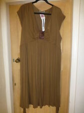 Marks and Spencer No Pattern V Neck Casual Dresses for Women