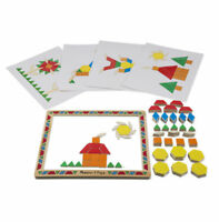 Melissa and Doug 13590 - Magnetic Pattern Block Set - NEW!!