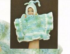 Crochet Pattern ~ BLANKET BABY HAND PUPPET DOLL ~ Instructions