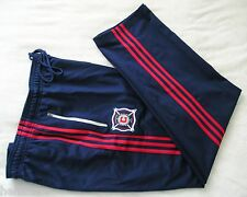 RARE~Adidas CHICAGO FIRE SIDELINE Track jersey-PANT Soccer Sweat firebird~Men XL