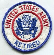 U.S. ARMY PATCH - U. S. ARMY RETIRED (OFFICIAL PATCH)