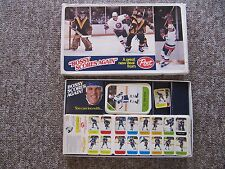 1982/83 Post Hockey RARE Salesman's Sample Boxed Set with extras.