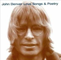 JOHN DENVER Love Songs & Poetry CD BRAND NEW Camden