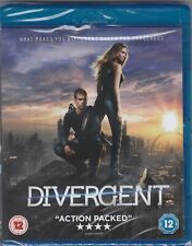 DIVERGENT - action packed film - NEW (C105) {Bluray}