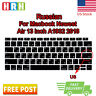 """US Russian Silicone Keyboard Protective Film For MacBook Air 13"""" A1932 New 2018"""