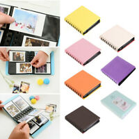 "3/"" 68 Pockets Case Photo Album Boxes For Fujifilm Polaroid Instax Mini 8Color"