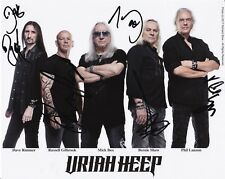 8 1/2 x 11 Glossy Photo Uriah Heep Autograph {252}