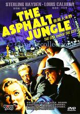 The Asphalt Jungle (1950) - Sterling Hayden, Louis Calhern - DVD NEW