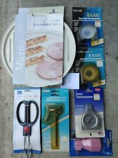 Bacon/meat Grill, Oven Thermometer, Candy/Deep Fry Thermo, Tongs, Night Light
