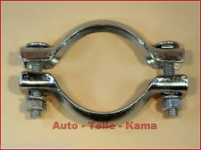 Exhaust Installation Clamp for Peugeot, Agent And Muffler / Ø 66 MM