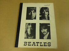 SONGBOOK THE BEATLES