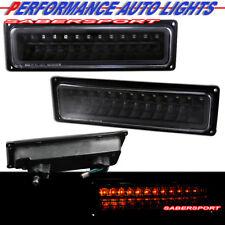 Set of Pair Black LED Signal Lights for 1988-1999 GMC Chevy C/K Full Size
