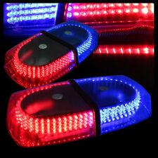 Red Blue 240 LED Light Bar Roof Emergency Beacon Car Warning Light Flash Strobe