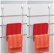 Chrome Over Door Towel Rail 3 Tier~towel hanger~holder