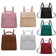 Women's Backpack PU Leather Shoulder Handbag Schoolbag Rucksack Satchel Fashion