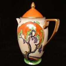 Carlton Ware ART DECO 'Landscape Tree' COFFEE POT 1920's