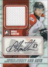 DOUGIE HAMILTON NO:SSMA-DH ROOKIE JERSEY AUTO 1 of 40 HEROES and PROSPECTS 13-14