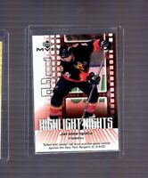 Jarome Iginla 2002-03 Upper Deck MVP Highlight Nights #3 Calgary Flames Insert