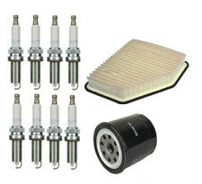 FOR LEXUS GS430 4.3i SERVICE PARTS OIL AIR FILTERS & SPARK PLUGS KIT 2000-2005