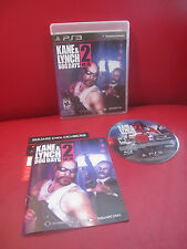 Kane & Lynch 2: Dog Days (Sony PlayStation 3, 2010) Excellent
