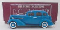 Brooklin Models 1/43 Scale BC013 - 1936 Buick 4-Door Trunk Sedan M-41 Blue
