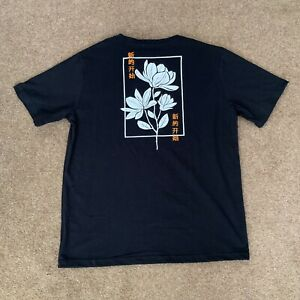 Bolongaro Trevor Floral T-Shirt Brand New Black RRP £45 Size Large
