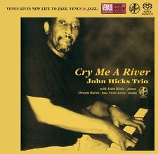 John Hicks Trio Cry Me A River SACD Japan Venus Records Audiophile CD