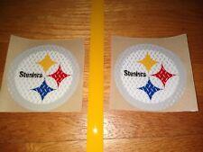 Pittsburgh Steelers Diamond plate series Full Size Football Helmet Decals