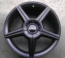 """5 Lug 5x114.3 5x4.5 5x120 Black 16"""" Inch Honda Civic Set of 4 Wheels Rims"""