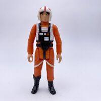 Vintage Star Wars Luke Skywalker X-Wing Pilot Action Figure 1978 Kenner