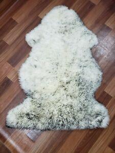 Genuine Sheepskin Rug Sheep Skin Fur - Australian Sheep Rug 2 X 3 ft.