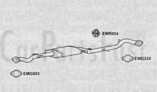 Scatola centrale di scarico Nissan 200SX 2.0 BENZINA COUPE 08/1996 al 02/2001