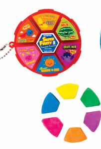 Super Fruity Kneadable Eraser Wheel Teacher Supply Party Favor Fidget Tactile